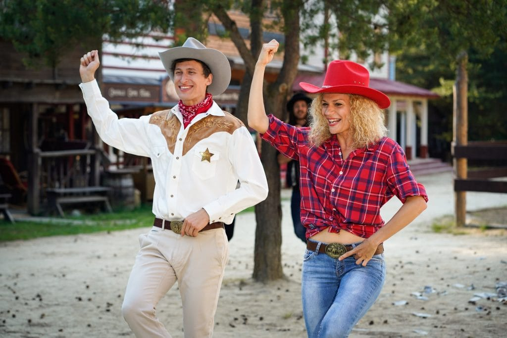 Smejko a Tanculienka Na divokom západe